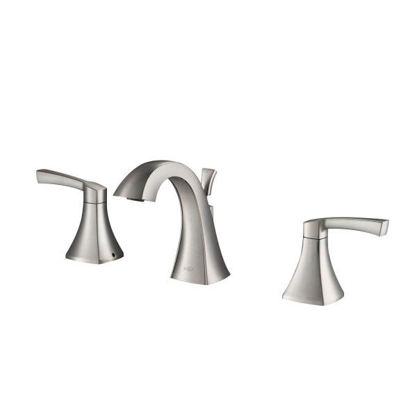 Kibi Pyramid 8 Widespread Bathroom Sink Faucet With Pop Up Kbf1014 Kibi Usa